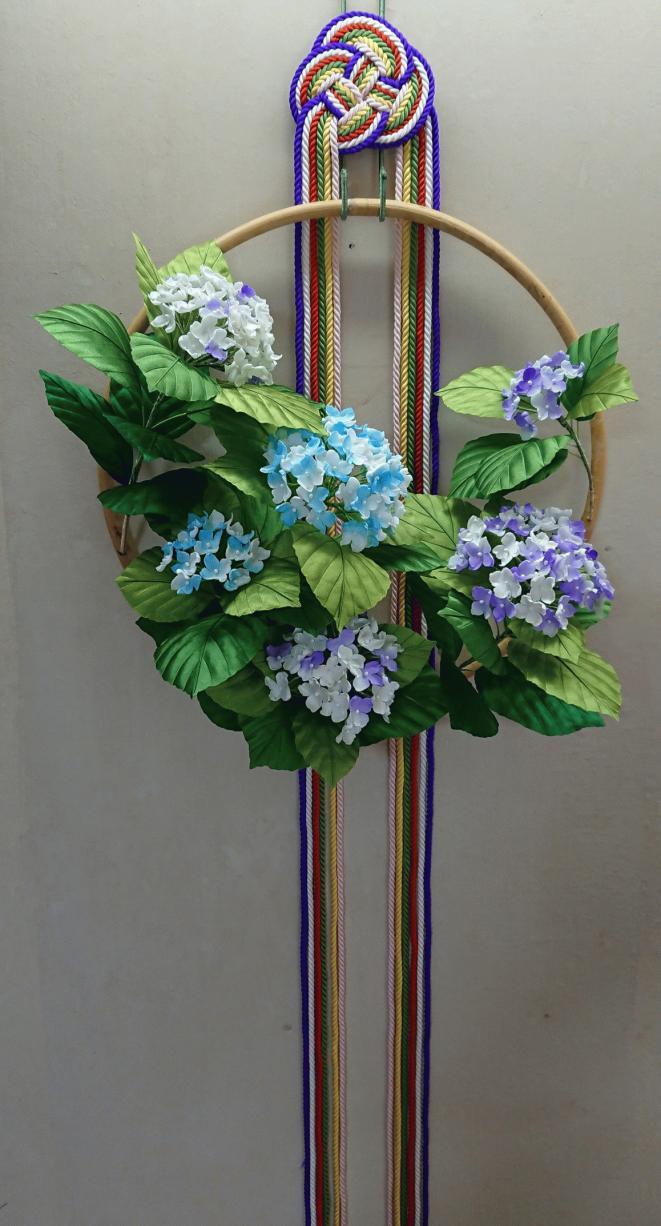 色紫陽花の平薬「完成」