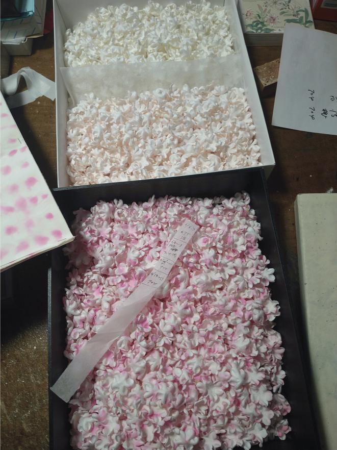桜のパーツ