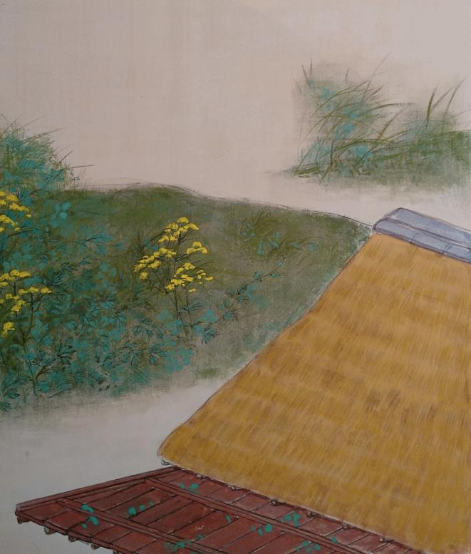 女郎花の庭 絵