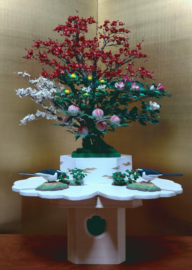 徳川将軍婚礼飾り 完成品